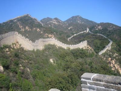 MARAVILLAS DEL MUNDO - LA GRAN MURALLA CHINA .