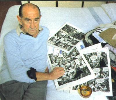 TRIBUTO AL GRAN DIBUJANTE ARGENTINO ALBERTO BRECCIA -
