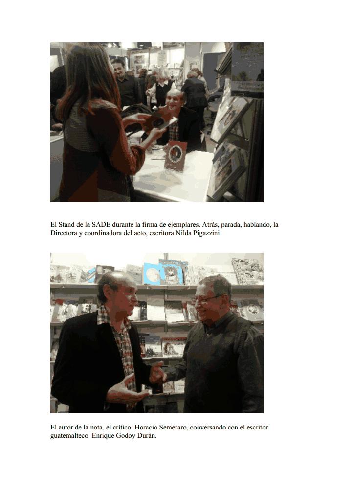 """PRESENTACIÓN DE ANTOLOGIA: """"EL duende y la poeta"""". Feria del libro de Buenos Aires 2013"""