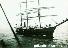 El buque Scotia capitaneado por William Bruce
